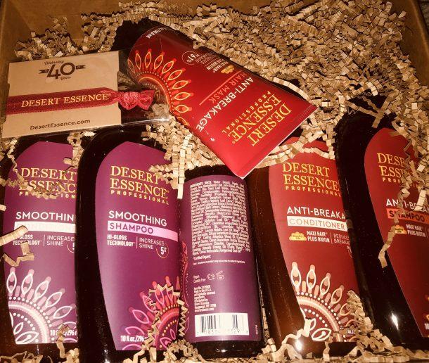 Desert Essence Hair Product Review #ad #MomsMeet #DesertEssence