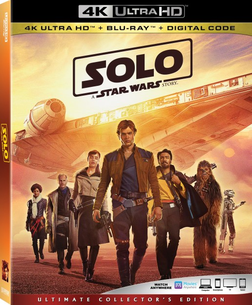 Pick Up Your Copy of Solo In Stores Today