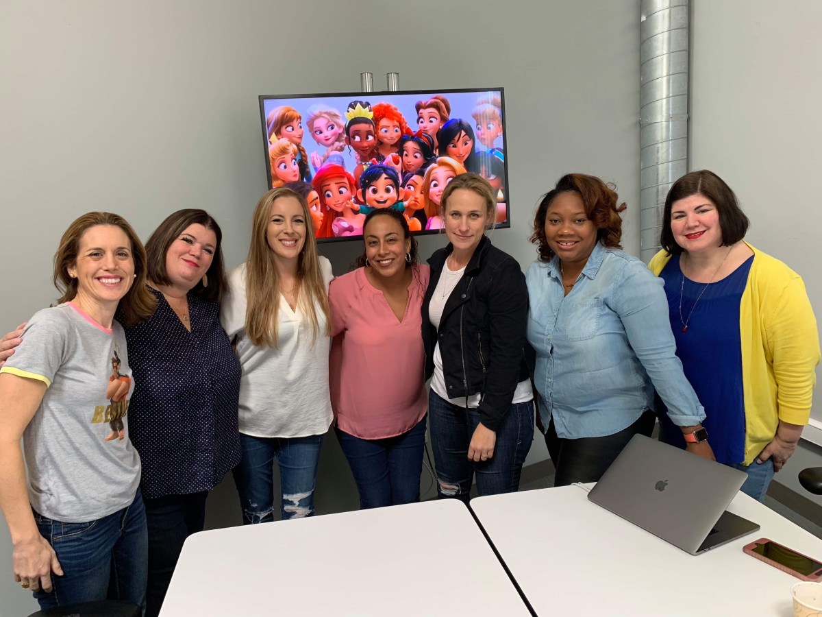 Inside the Disney Princess Scene with Pamela Ribon | #RalphBreakstheInternetEvent
