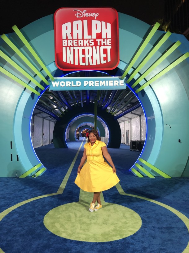 Ralph Breaks the Internet Red Carpet After Party