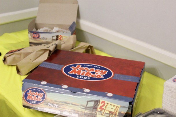 Jersey Mike's Catering Box