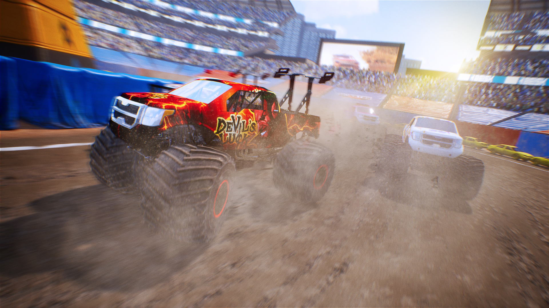 The First-Ever Monster Truck Simulation Game Available to Own Now