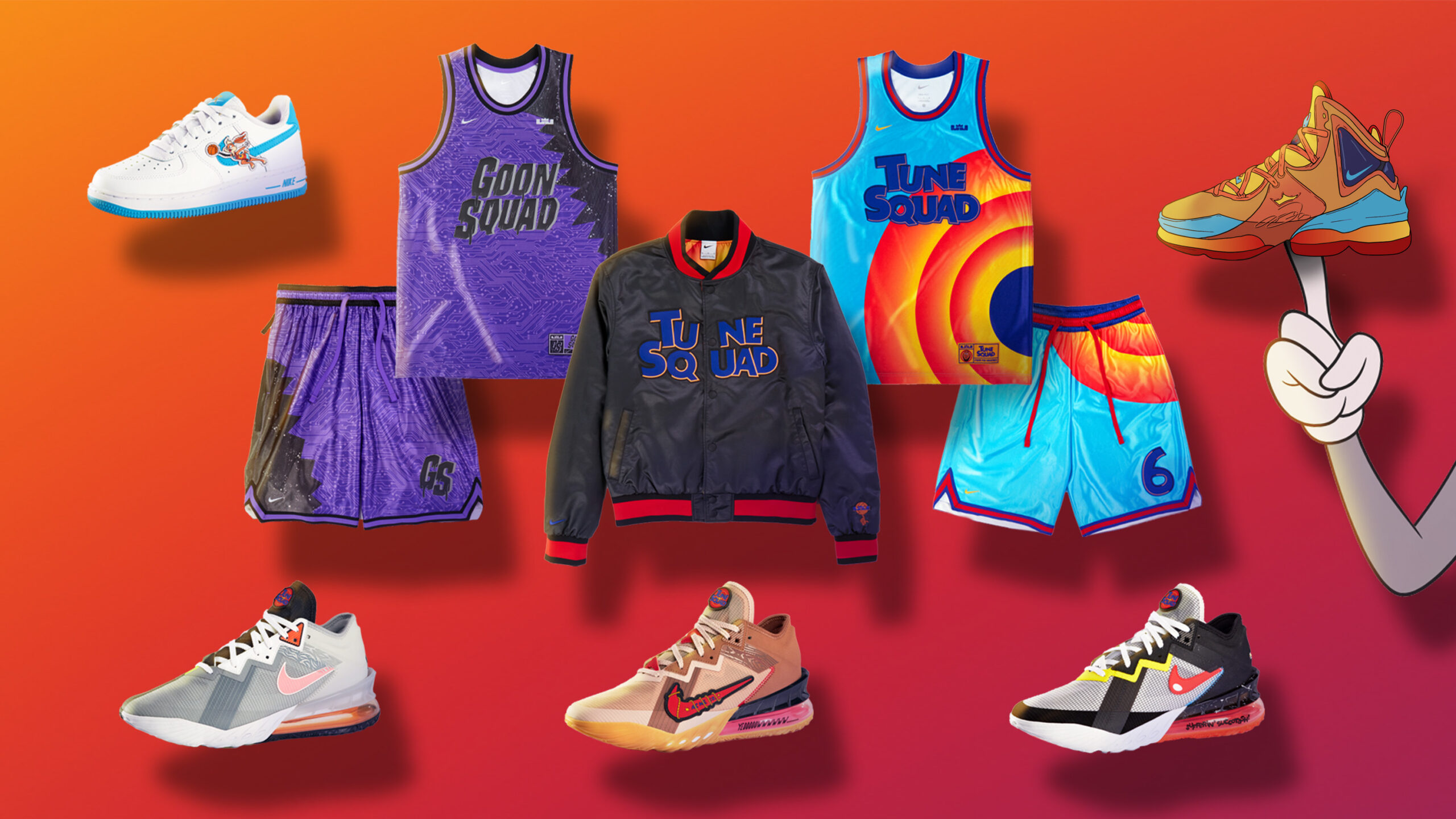 New Space Jam A New Legacy Products from Nike