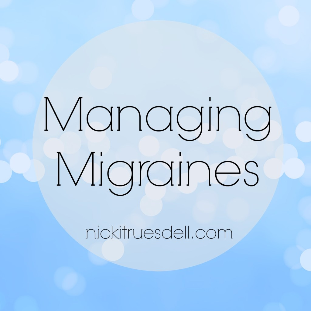 Tips for Managing Migraine Headaches