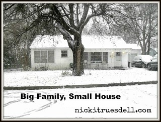 big large family small tiny house