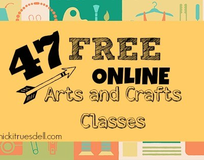 free online quilting cake decorating sewing cooking knitting classes