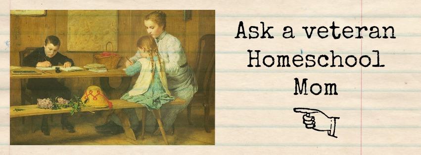 Ask a Veteran Homeschool Mom Facebook Group
