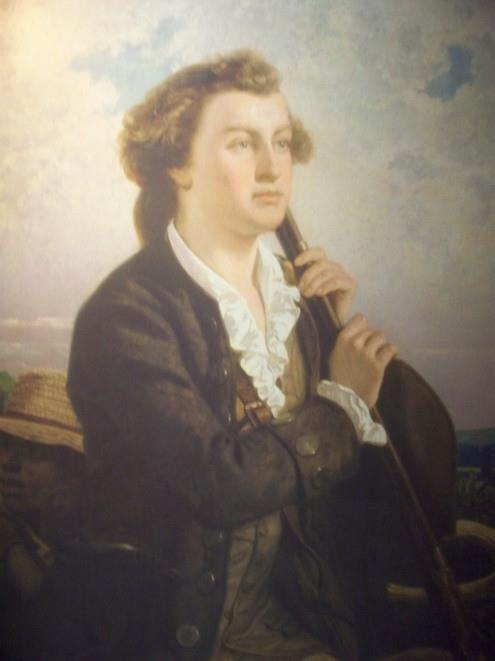 a young George Washington