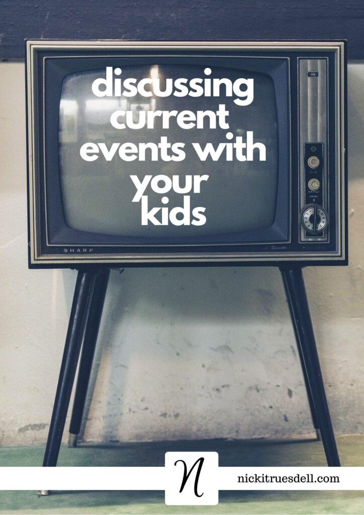 Discussing current events with kids
