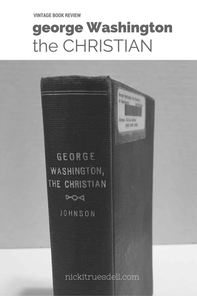 george washington the christian vintage book review