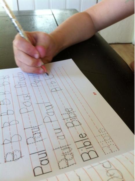nicholas handwriting