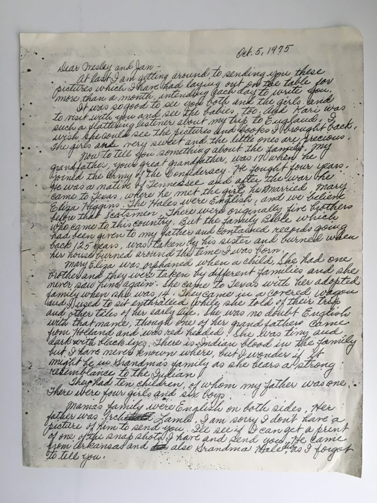 teach Cursive Writing so your kids will be able to read Family History documents