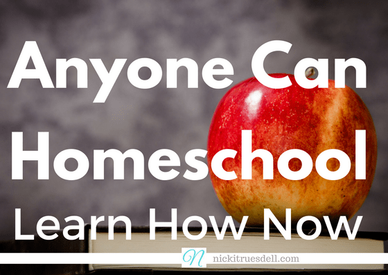 Homeschooling your children is not as hard as you think! Click here to find out how!