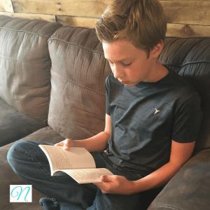 Imagine Nicholas reading