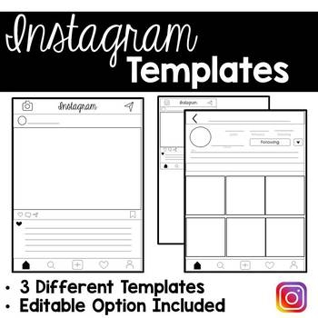 Make fun instagram pages for a person or event from history! Click here for more ideas...