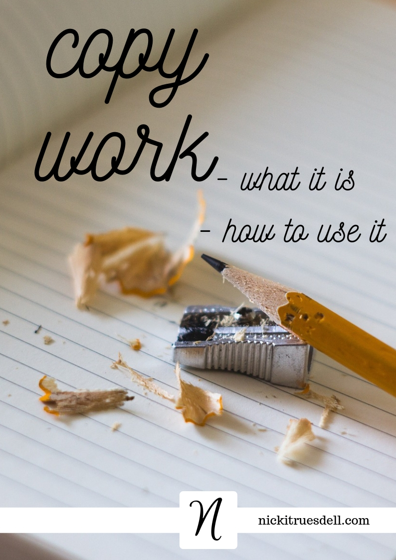Using copywork for language arts in your homeschool
