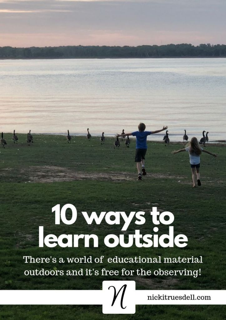 10 Ways to learn outside