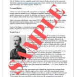 Teaching History and Literature with J. R. R. Tolkien (printable)