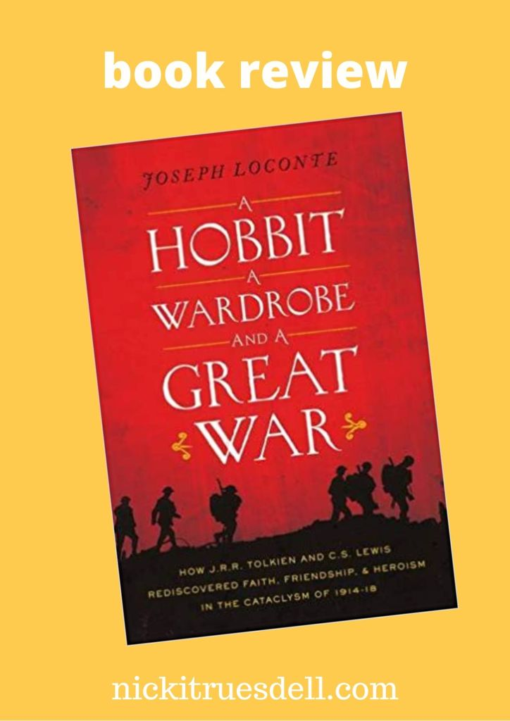 Read my in-depth review of A Hobbit, a Wardrobe, and a Great War