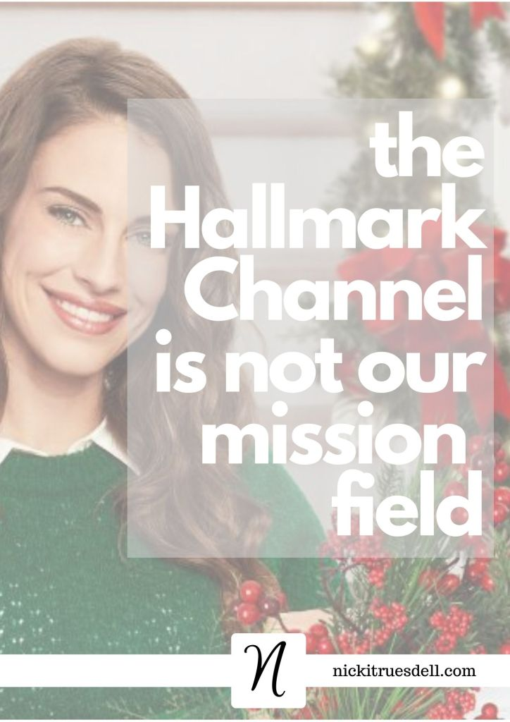 The Hallmark Channel is not the hill for Christians to die on...