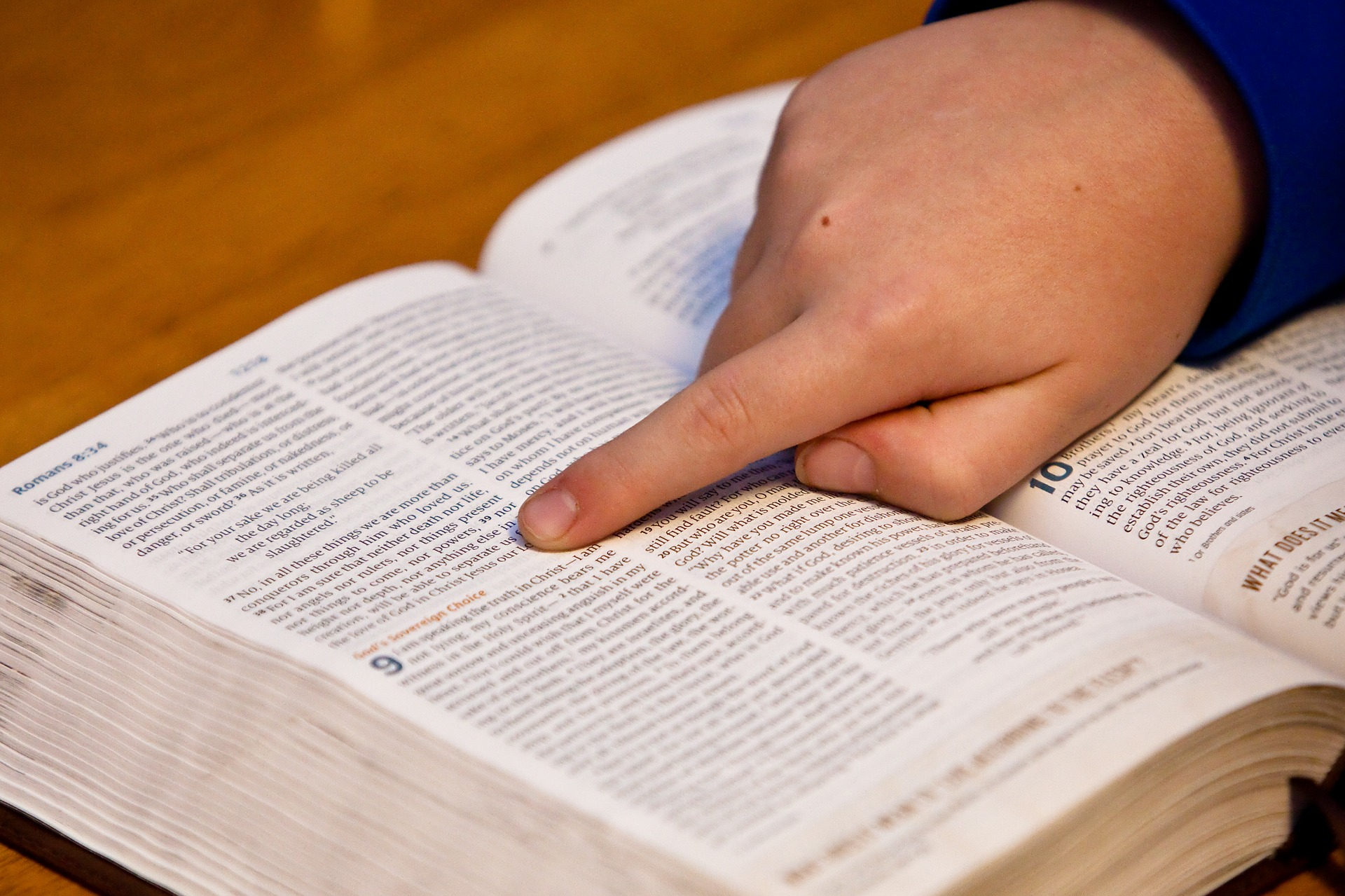 Teaching your children the catechism