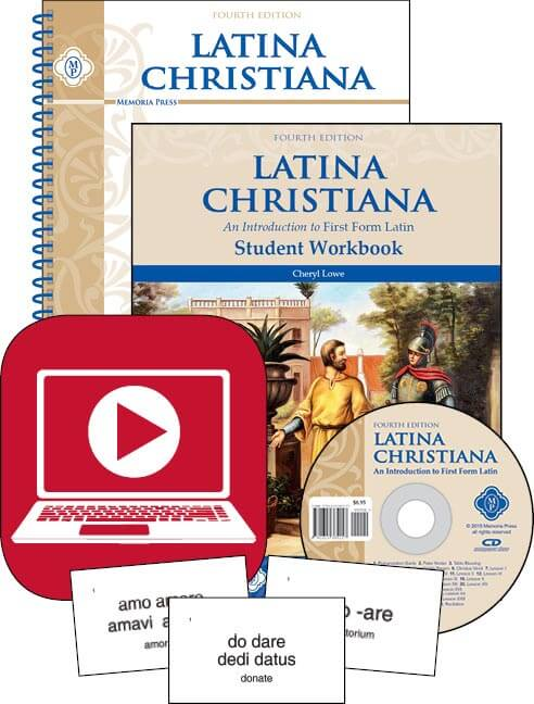 We love using Latina Christiana for middle school in our homeschool curriculum.