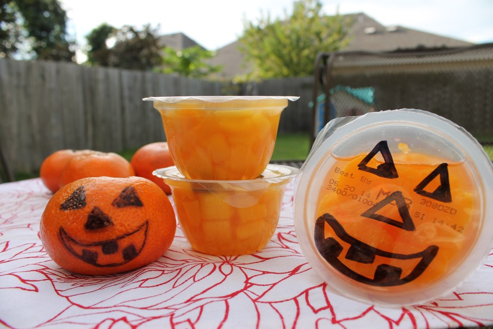 Halloween Lunchbox Jack O' Lanterns