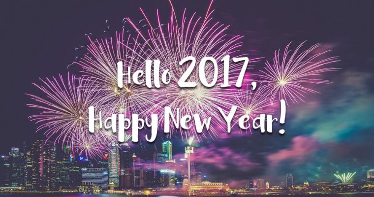 Hello 2017, Happy New Year!