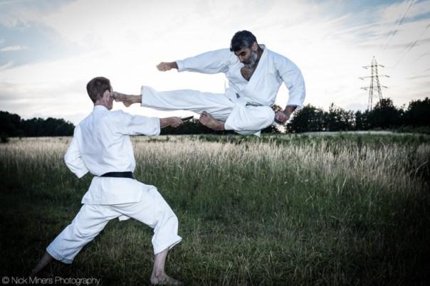 Karate demonstration