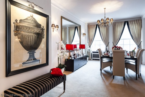 Interior design in Mayfair, London