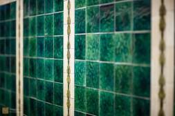 Original tiling, Tune Hotel Newcastle