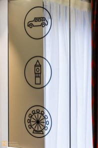 Local details, Tune Hotel Canary Wharf