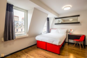 Double room, Tune Hotel Liverpool City Centre
