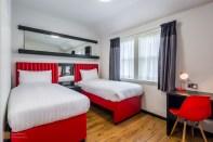 Twin room, Tune Hotel Liverpool City Centre