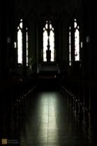 Interior of the Catholic cathedral, Reykjavík