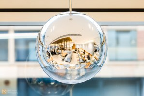 Spherical pendant lighting