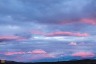 Sunset near Glencoe