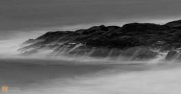 Rough sea at Seilebost