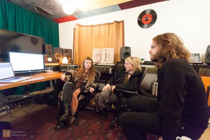Alexandra and Kata are joined by guitarist Arnar Pétursson to listen to the mix