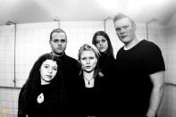 Mammút (l to r) Alexandra Baldursdóttir, Arnar Pétursson, Katrína Mogensen, Ása Dýradottir, Andri Bjartur Jakobsson