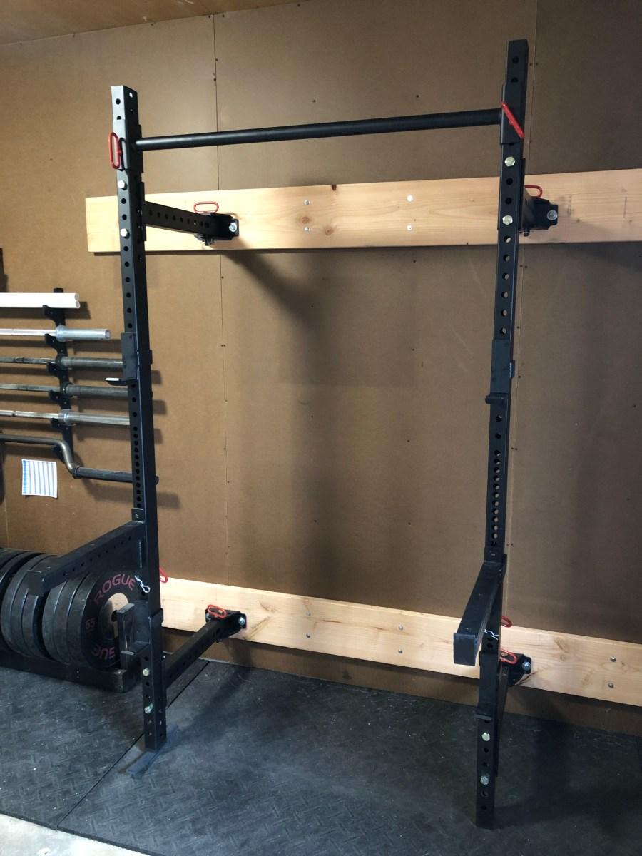 titan fitness 21 5 fold back wall