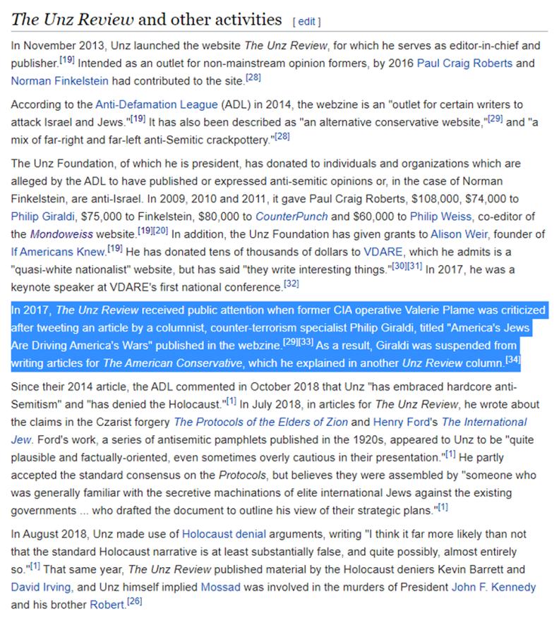 UnzWikipediaPage