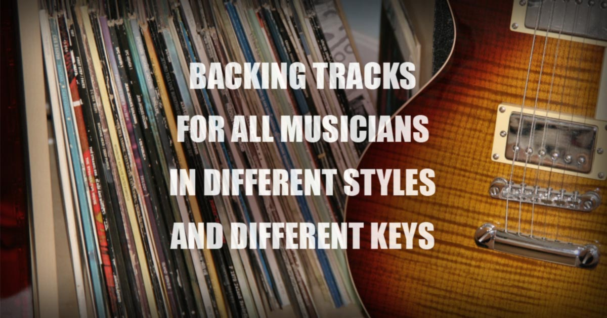 Nick Neblo | Backing Tracks for Guitar, Singers and Players