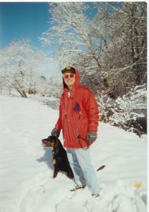 Guthrey and Vance near Slackwater bridge - 1996(ish)