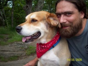 Me and Luc - Springer - 2009 (day hike to Termius, we did not finish the AT)