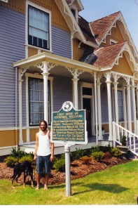 Guthrey at Tennesse Williams House