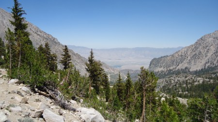 Roads! We can see signs of Onion Valley Campground!