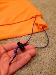 Para cord and spring clip