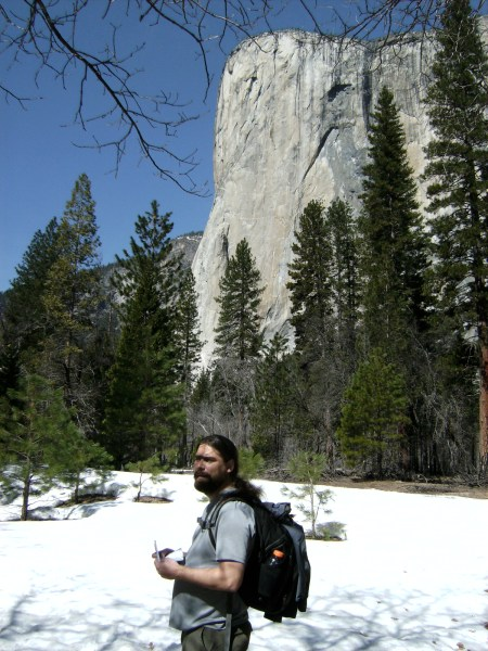 El Capitan and a large hairy guy - 03/18/09