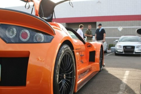 Gumpert Apollo and b7 Audi A4